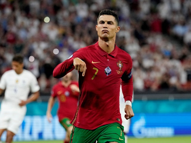 Cristiano Ronaldo Equals World Record For Most International Goals After Scoring A Brace For Portugal Against France At Euro 2020