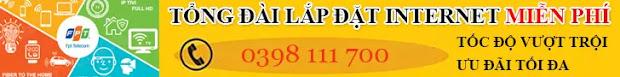 nTổng đài lắp đặt internet tại Phú Lương, Thái Nguyên 0398 111 700