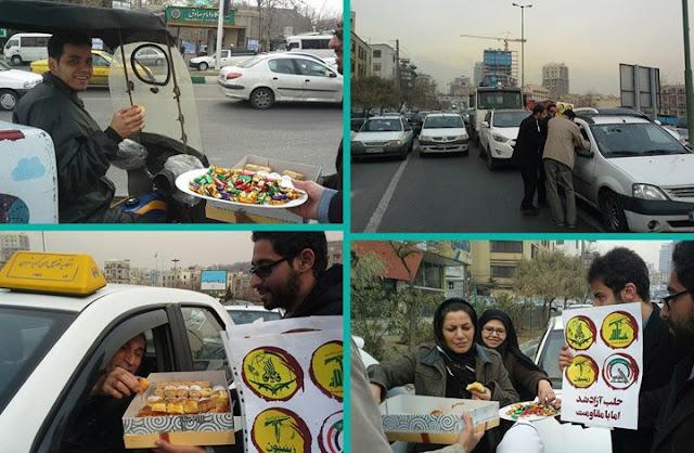 Iran Rayakan Penderitaan Aleppo dengan Berbagi Makanan Sepanjang Teheran