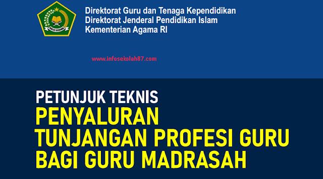 Juknis Tunjangan Profesi Guru (TPG) Bagi Guru Madrasah Tahun 2021