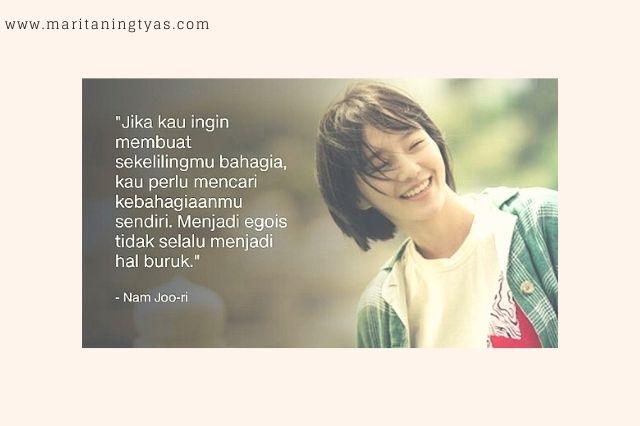 life quote dari nam yoo ri di drakor IOTNBO
