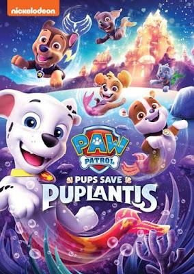 Paw Patrol Pups Save Puplantis 2019 DVD R1 NTSC Latino