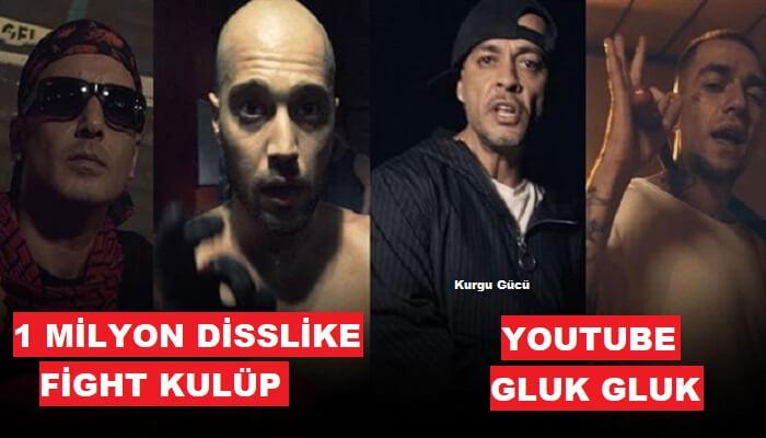Killa Hakan ve Ceza'lı Fight Kulüp Youtube'de 1 Milyon Disslike Aldı - Kurgu Gücü