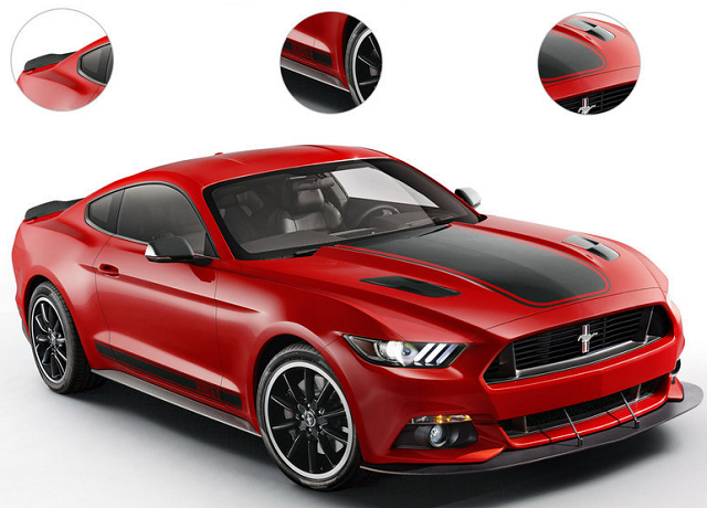 Ford Mustang 2018 trông sẽ bớt to lớn và hầm hố