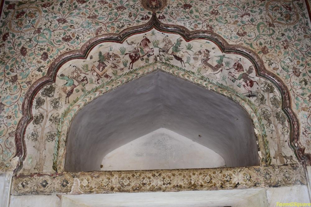 Paintings of Raja Mahal, Orchha