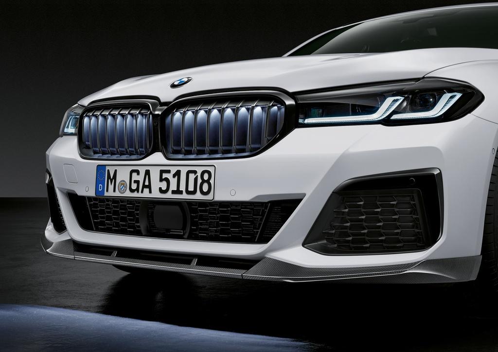 BMW 5-Series G30 LCI - M Performance lộ diện với ngoại hình thể thao