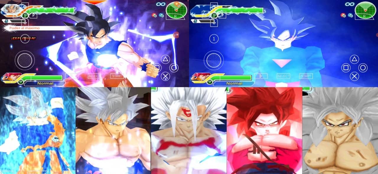 Super Dragon Ball Heroes Goku all forms