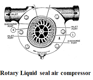 type compressor Liquid seal ring-type