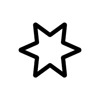 vector clip art of a Star