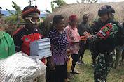 TNI-Masyarakat Memperkokoh Persatuan dan Kesatuan di Papua