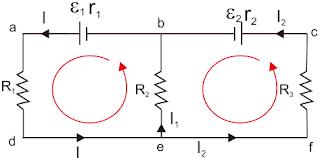 Peraturan Rangkaian dengan Dua Loop atau lebih