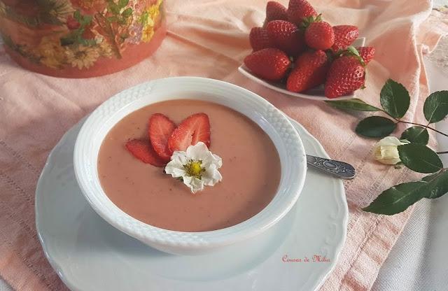 Crema de fresas