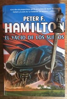 Portada del libro El vacío de los sueños, de Peter F. Hamilton