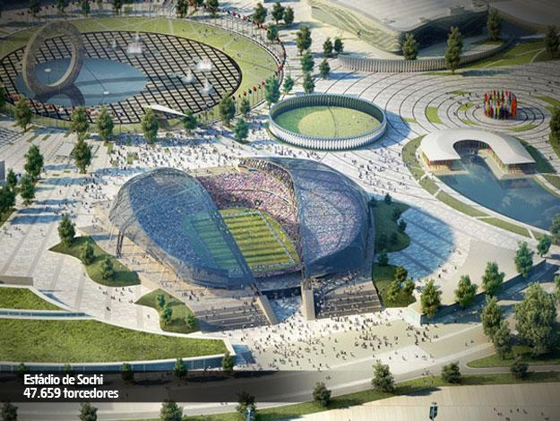 Sóchi - Estádio Olímpico de Fisht - 47.659