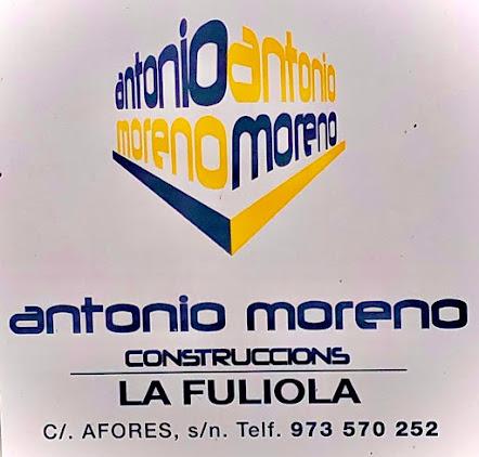 CONSTRUCCIONS  ANTONIO MORENO