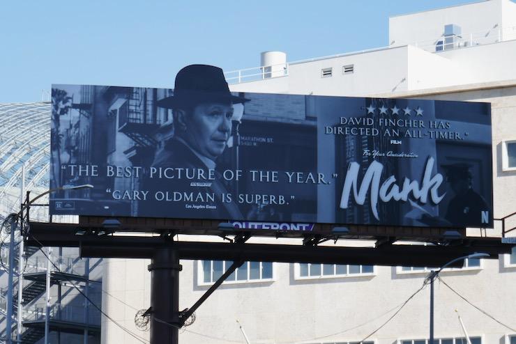 Gary Oldman Mank FYC extension billboard
