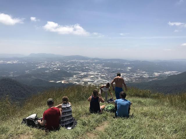 Đà Lạt nhìn từ đỉnh núi LangBiang