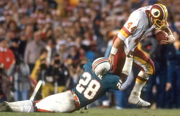 Redskins Running back John Riggins