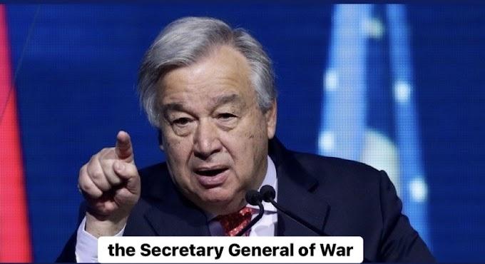 غوتيريش يدفع نحو العنف ونسف عملية السلام وجهود المجتمع الدولي لإيجاد حل لقضية الصحراء الغربية.