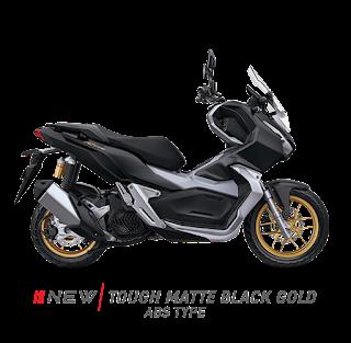 Astra Honda Motor (AHM) memberikan tiga tambahan warna untuk Honda ADV 150 yakni warna hitam, warna putih serta warna hitam putih. Simak gambarnya di bawah ini: