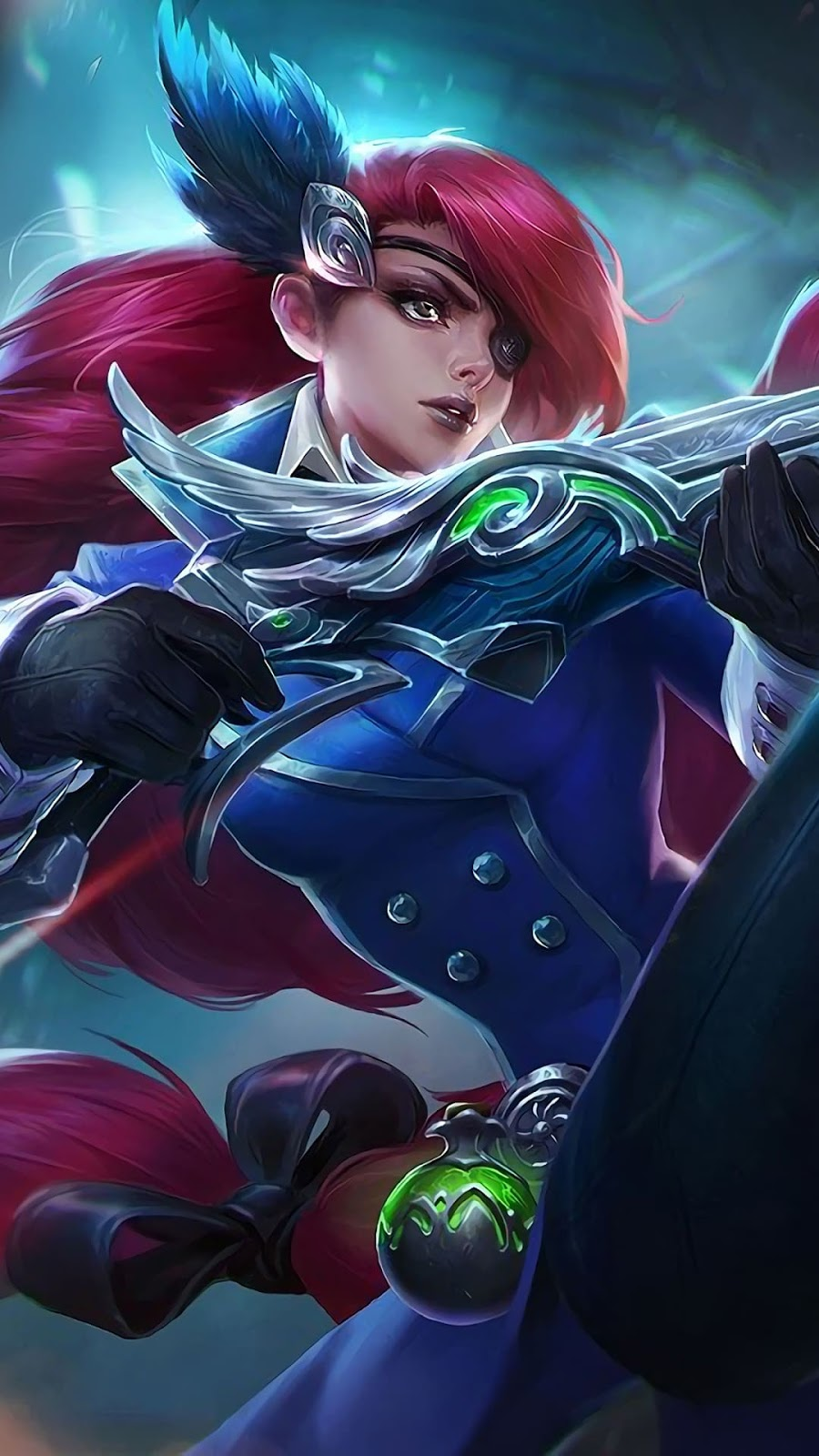 Wallpaper Lesley Sniper Skin Mobile Legends HD for Android and iOS
