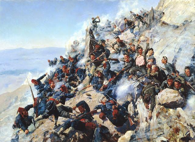 Batalla Paso Shipka Bulgaria liberación
