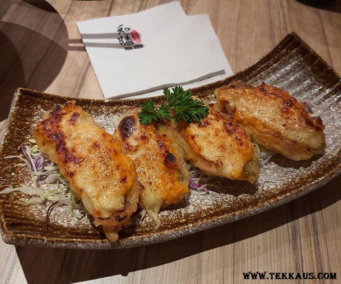 Wa Zen Menu Gyoza Fried Dumplings