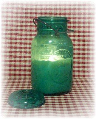 Soy Candles Smell SOOOO Good!: Vintage Look Ball Mason Jars