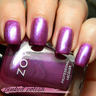 Zoya Charming Swatches and Review