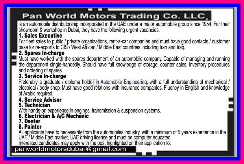Options trader jobs dubai