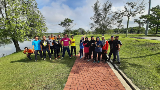 Hari Sukan Sempena Bulan Sukan Negara Di Tasik UTP, Tronoh Perak