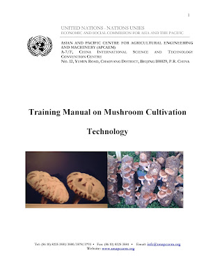 [EBOOK] Training Manual on Mushroom Cultivation Technology