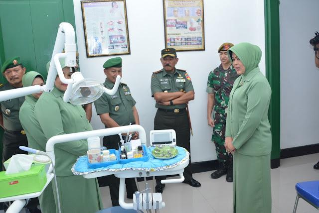 Pangdam IV Resmikan Klinik Pratama Yonarhanud 15/DBY