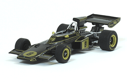 Lotus 72D 1972 Emerson Fittipaldi f1 the car collection