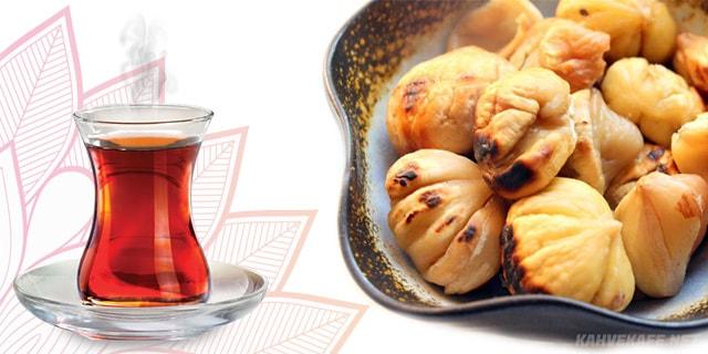 kestane yanında çay - www.kahvekafe.net