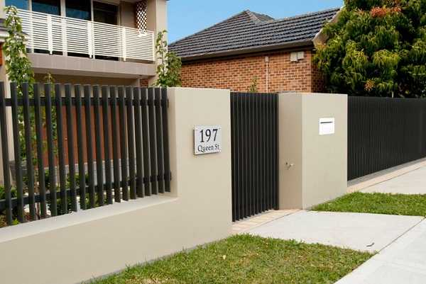 Cách chọn màu sơn tường rào