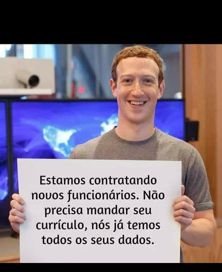 facebook ja tem seus dados