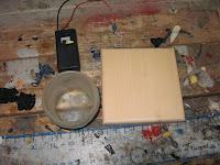 Battery box, bottom and mason jar