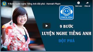 Download miễn phí 9 Bước luyện nghe Tiếng Anh đột phá