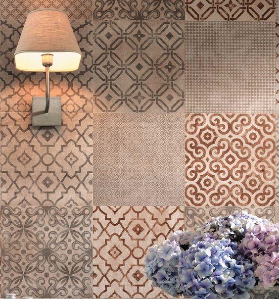 Mosaico di piastrelle per il paraschizzi della cucina - Mosaico per cucina ...