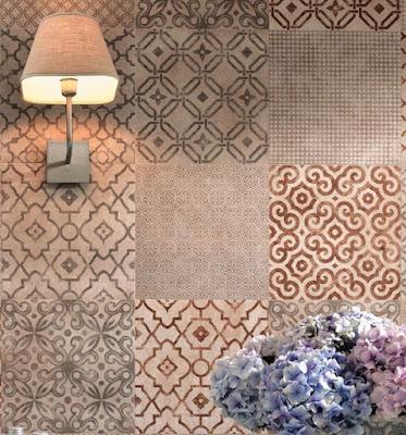 patchwork, piastrelle, Creta, Fap ceramiche