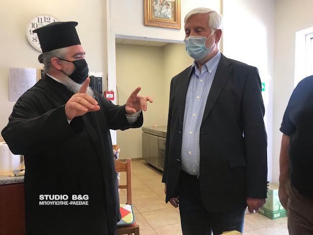 Ναύπλιο: Για την πορεία του κτιρίου του Συσσιτίου Ευαγγελίστριας ενημερώθηκε ο Πέτρος Τατούλης