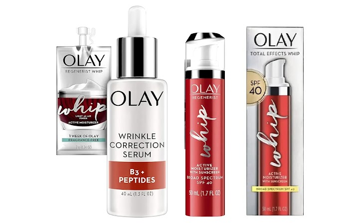 Olay Whip Moisturizer with Sunscreen SPF 40 review