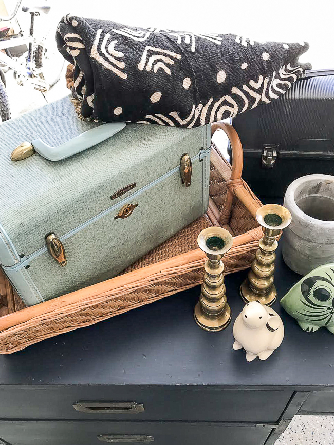 vintage flea market and thrift store finds