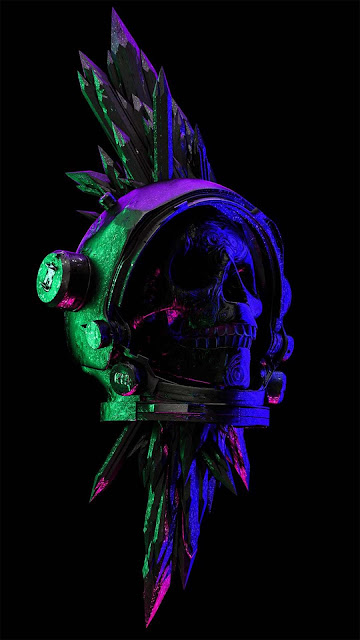 21 Polygon Art Skull, Skull King, Crown King HD Wallpapers for Android and iPhone