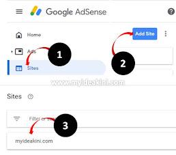 google adsense dah aktif