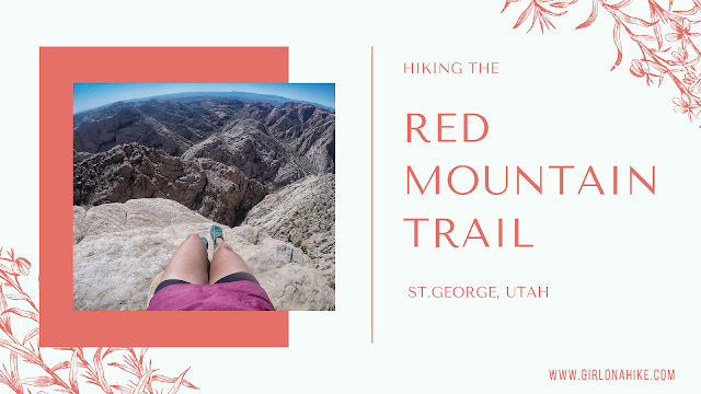 The BEST Hikes in St.George, Utah! Red Mountain Overlook