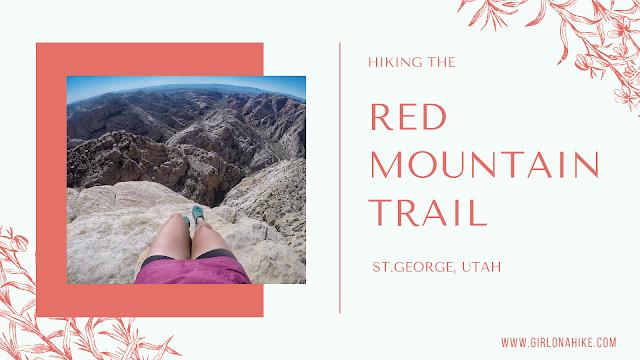 Red Mountain Trail, St.George Utah