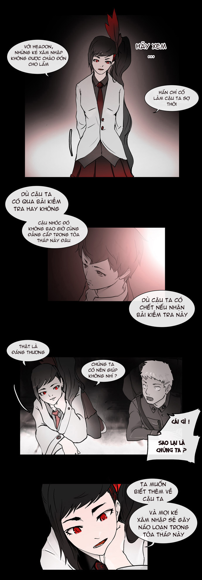 Tower of God chapter 2 trang 7