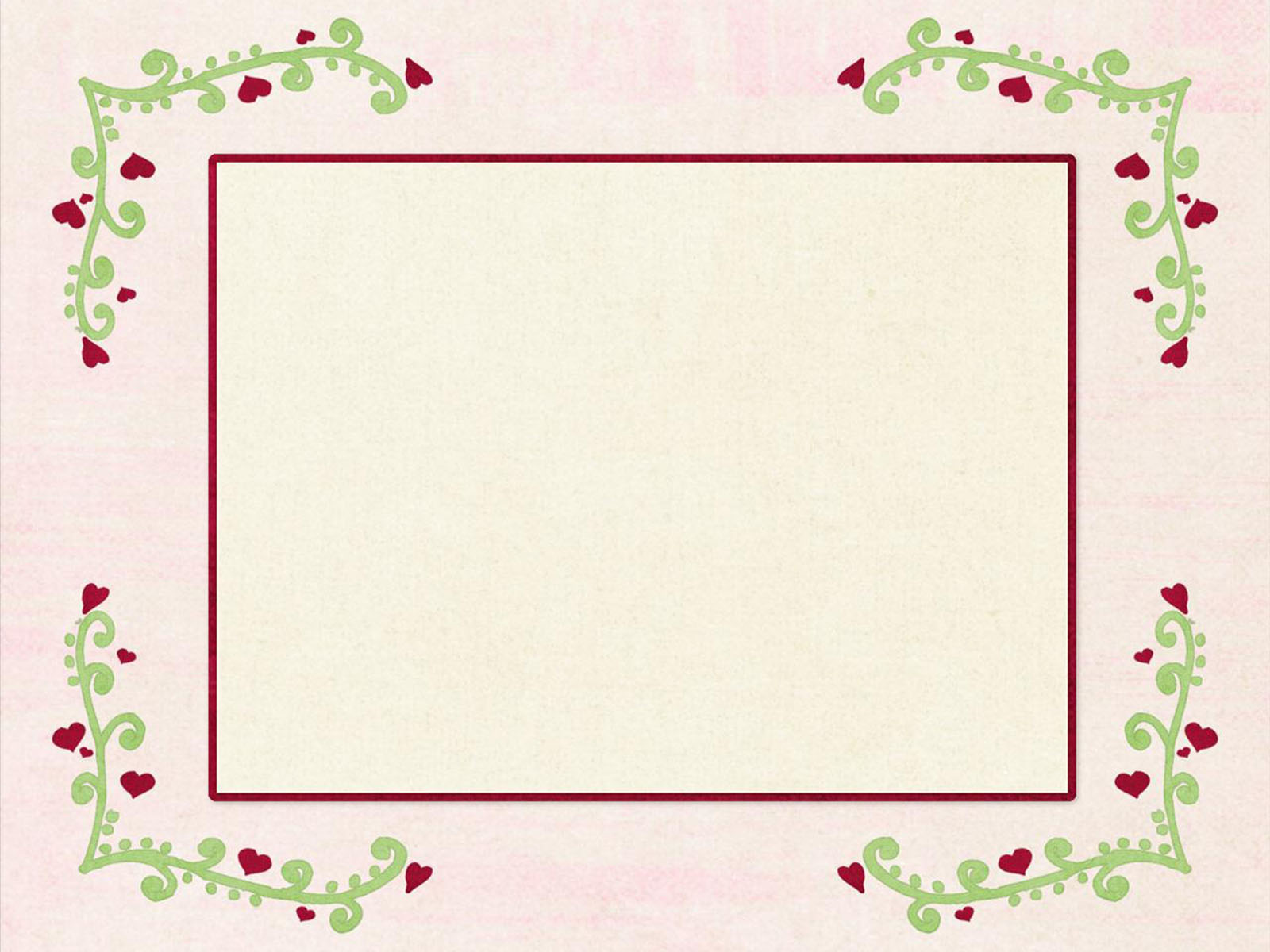 Pattern border PowerPoint background